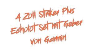 4 Zoll Striker Plus Echolot Set mit Geber von Garmin