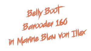 Belly Boot Barooder 160 in Marine Blau von Illex
