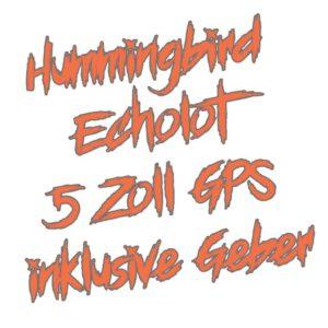 Hummingbird Echolot mit 5 Zoll und GPS kaufen