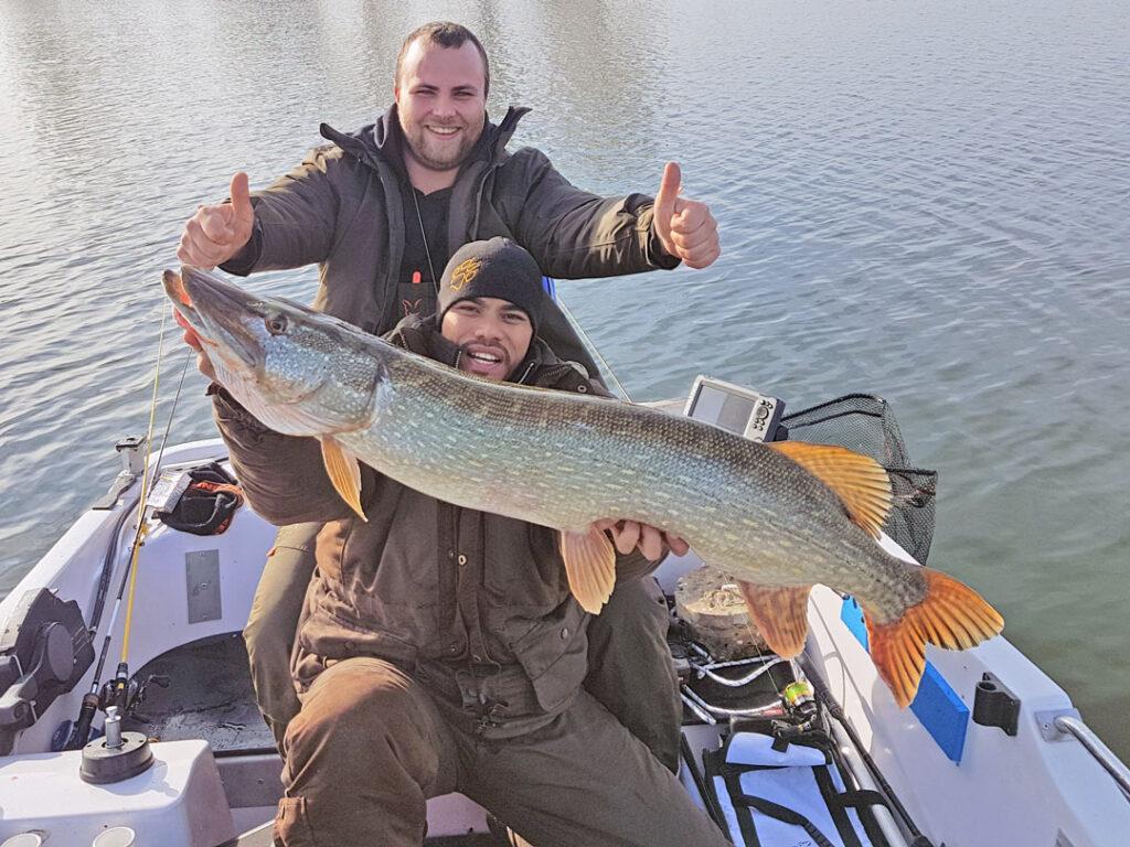 Erfolgreich angeln auf Hecht